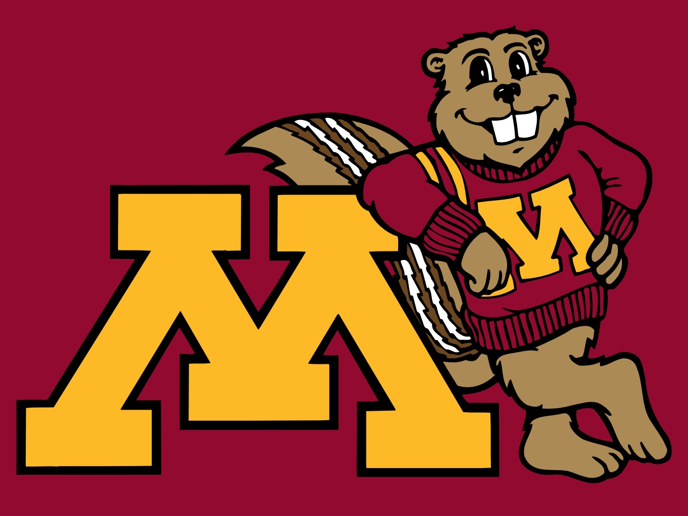 Minnesota Basketball Logo Golden Gopher Logo Basketball