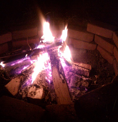 First Bonfire