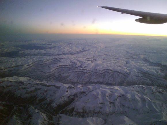 PSP GO!Cam - Himalayas from Aeroplane