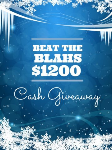 1200 Winter Cash Giveaway