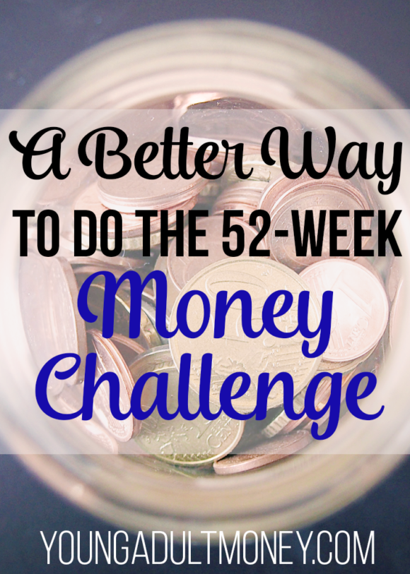 The 52-week money challenge is making it's way around the blogosphere. In this post I share a better way to do the challenge.