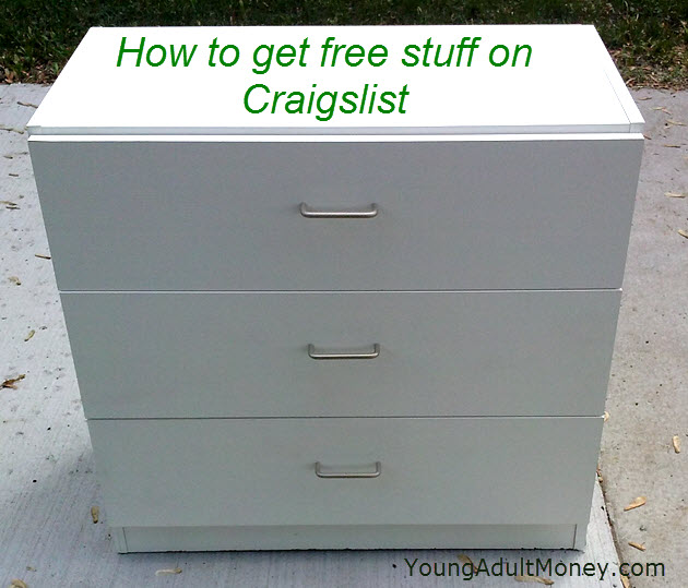 How To Get Free Stuff On Craigslist