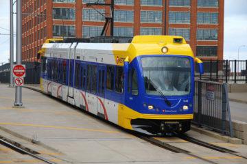 Minnesota Light Rail Blue Line