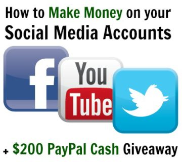 How to Make Money on Social Media PayPal Cash Giveaway