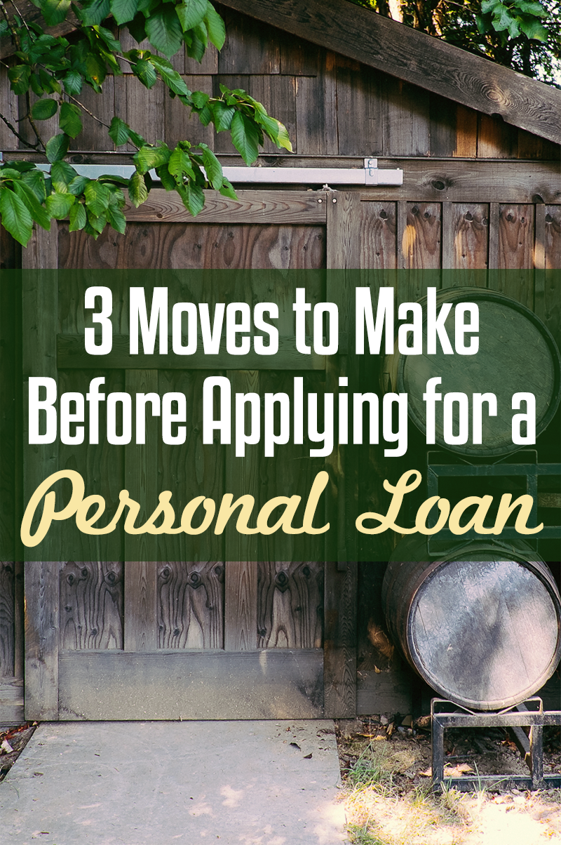 3 moves to make before applying for a personal loan for How to get a home loan to build a house