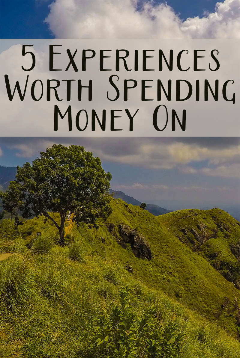 Are you bored of spending on the same old regular things? Why not try upping the ante? Here are 5 awesome experiences worth spending money on.