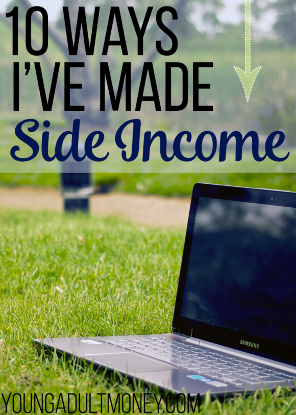 Side income is all the rage, but many people have been making side income for years. In this post I share 10 ways I've Made Side Income over the past ten years.