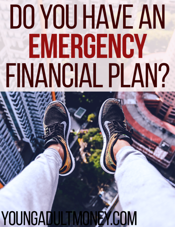 Are you prepared with an emergency financial plan in case you lose your job or are in an accident that prevents you from working? If not, start preparing now.