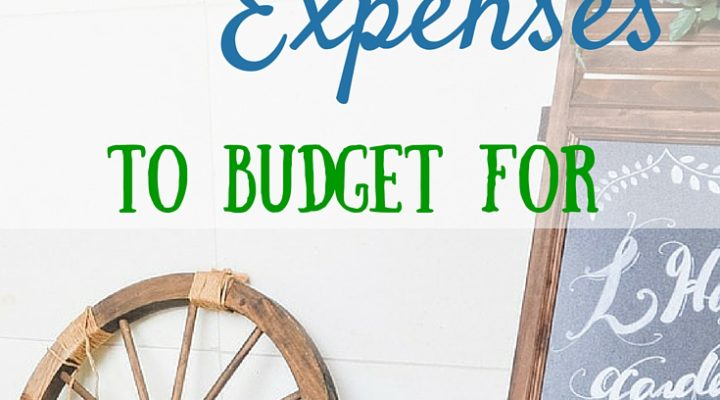 15 Wedding Expenses to Budget For