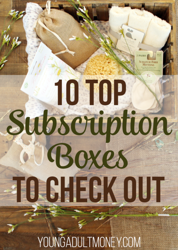 10 Top Subscription Boxes to Check Out