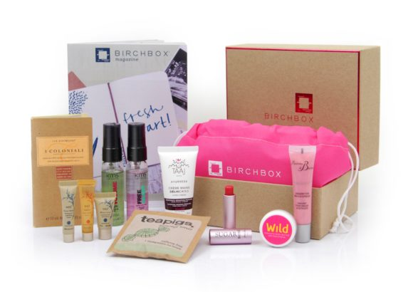 Check out the BirchBox Subscription Box for new makeup and toiletries every month