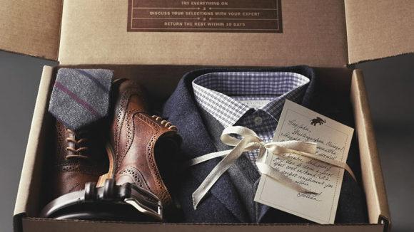 Trunk Club Mens Clothing Box