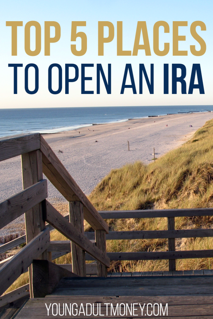If you're not aware of the benefits of opening an IRA, you're missing out on tons of compound interest while you're young! Here are the top places to open an Individual Retirement Account, and why you should.