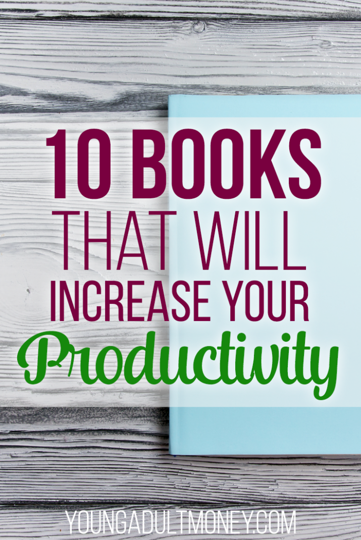 Do you find yourself wishing there was more time in the day to get things done? These books will help you increase productivity and use your time wisely.