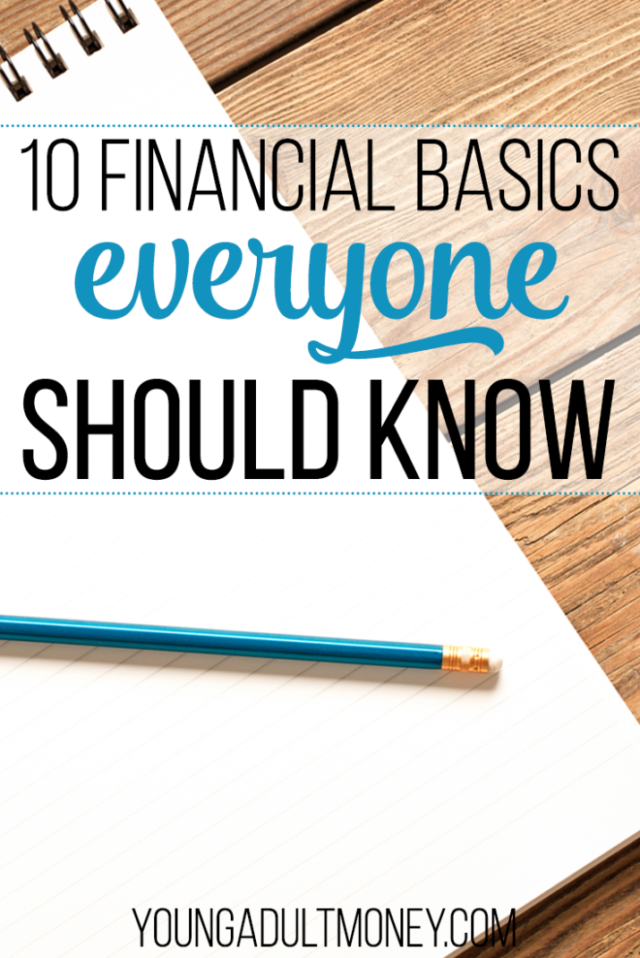 Just getting started with managing your money? Learn the financial basics so you don't suffer from information overload. Here are 10 important lessons to know!