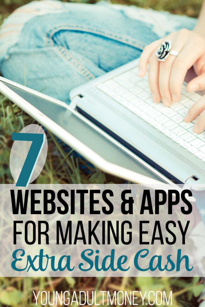 websites apps that earn extra money