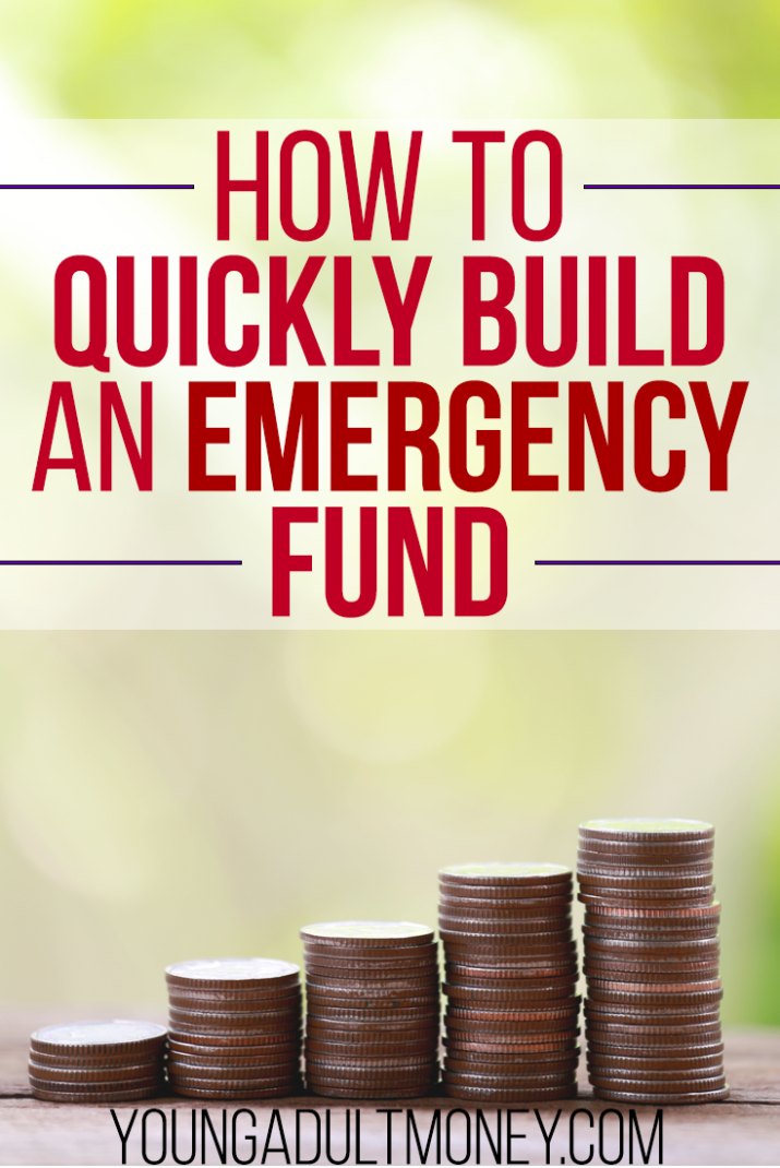Do you know how you would handle a financial emergency? Uncontrollable situations happen, so here's how to quickly build an emergency fund.