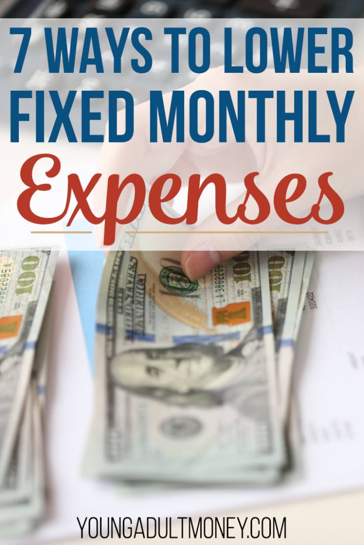 Think you can't lower some of your fixed expenses? Guess again. Check out these practical ways to lower fixed expenses like housing costs, your cell phone bill and more.