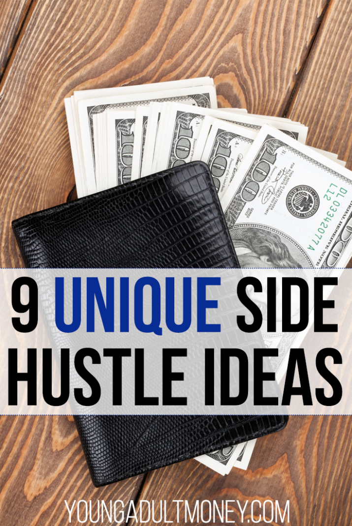 Think making more money has to be boring? Think again! Here are 9 unique (and fun!) side hustle ideas to put more cash in your pocket.
