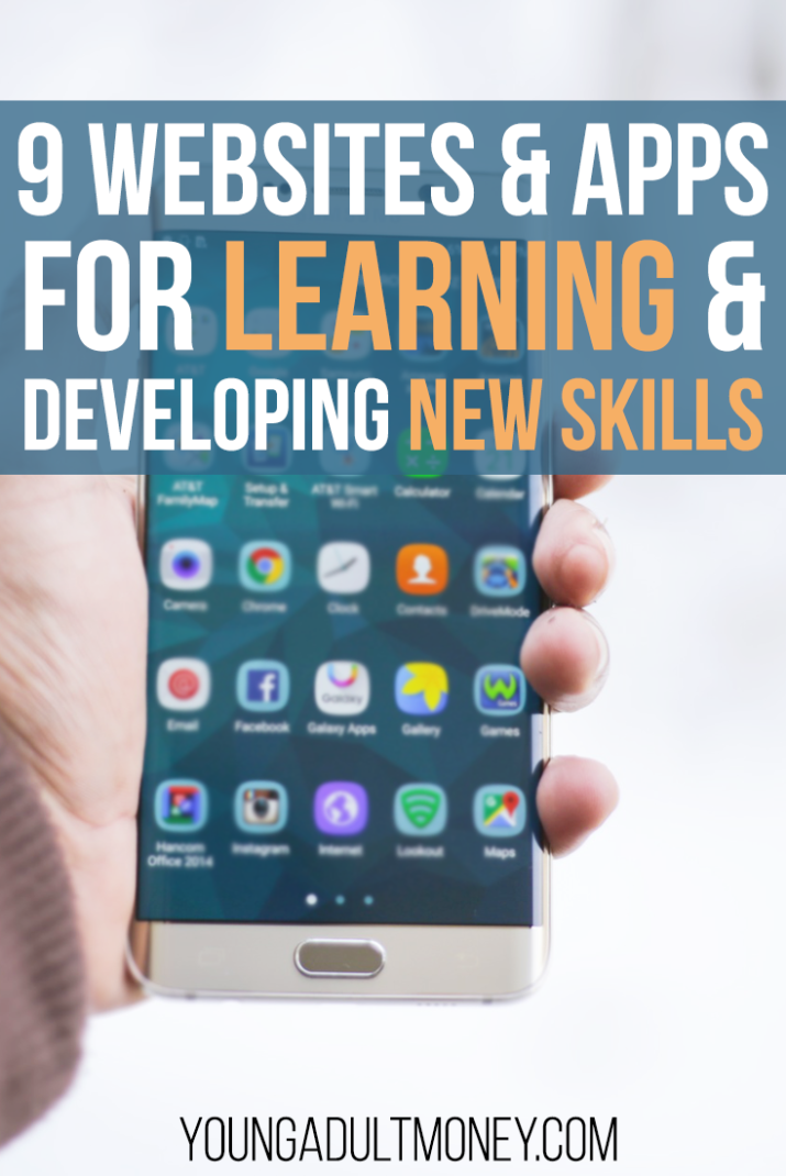 Learn new skills online or on the go for free or cheap with any of these 9 websites and apps.
