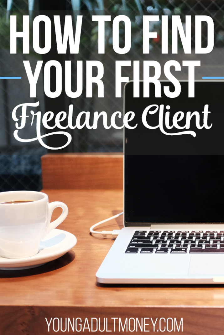 Freelancing is a fantastic way to make extra money, but with so much competition, how can you set yourself apart? Here's how to find your first freelance client.