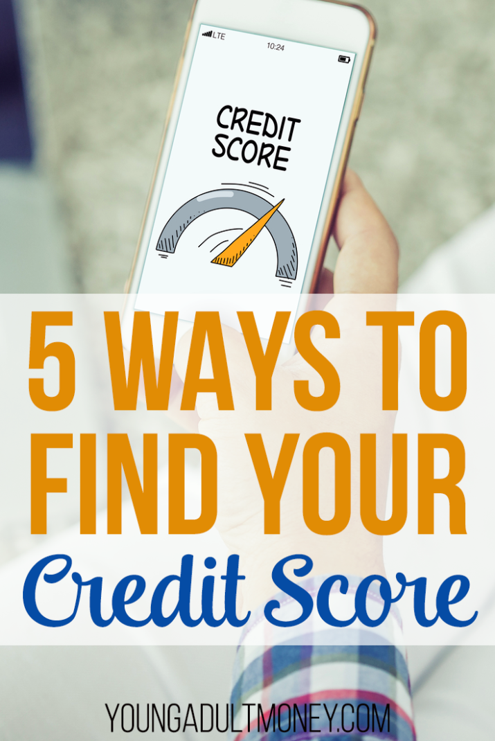 Credit scores are like the letter grade on your financial report card. Here are 5 easy ways to find your credit score.