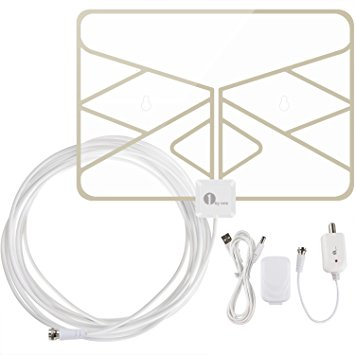 Digital HDTV Antenna for Cord Cutting