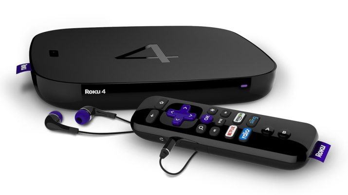 Roku 4 Streaming Media Player for Cutting Cable
