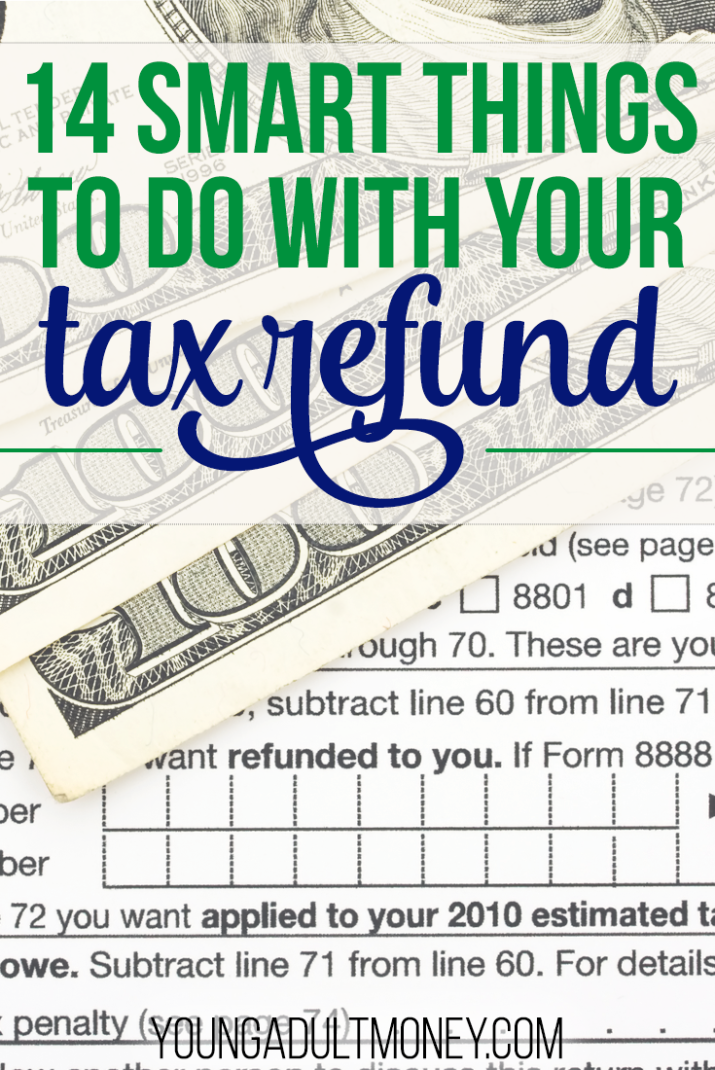 If you're getting a tax refund this year, it can be tempting to spend it on something fun. But money from your tax refund can greatly improve your finances by using it in one of these 14 ways.