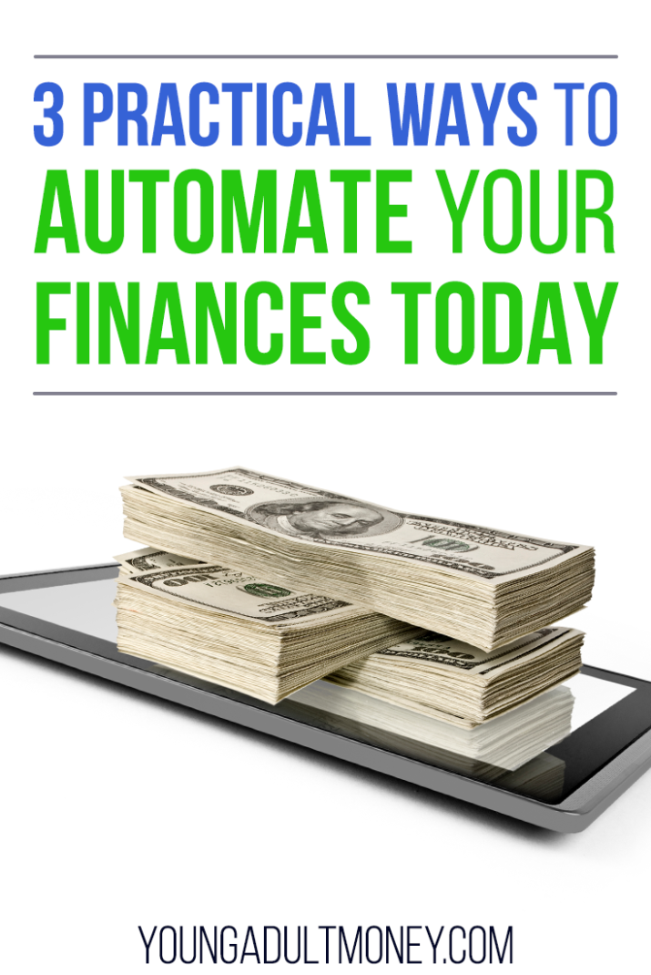 Automating your finances can help you make good decisions over and over, automatically. Here's 3 practical and easy ways to automate your finances today.