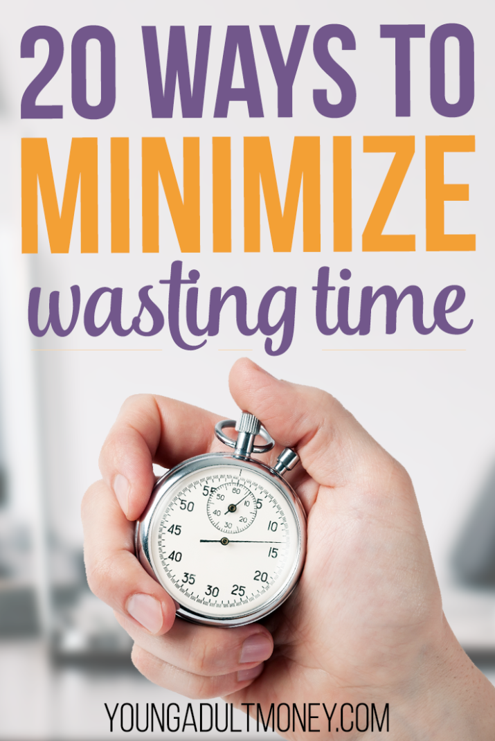 Not sure where your time goes? Need to make better use of your time? Minimize the amount of time you waste with these 20 tips.
