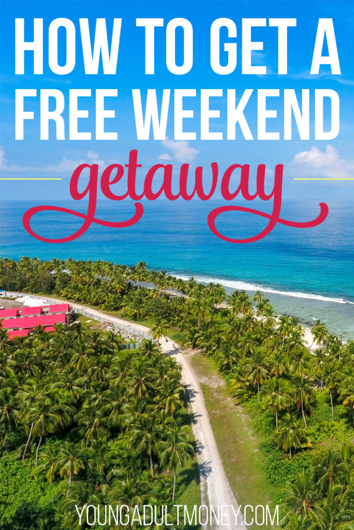 A weekend getaway is a great way to relax, unwind, and explore a new. Travel can hit your wallet hard, though, so we share how to get a free weekend giveaway.