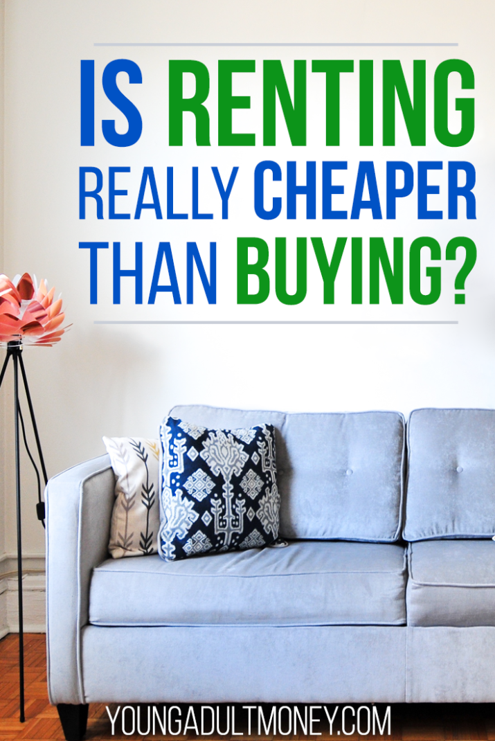 Wondering if renting is really cheaper than buying a home? This posts weighs the pros & cons including the financial implications of each choice.