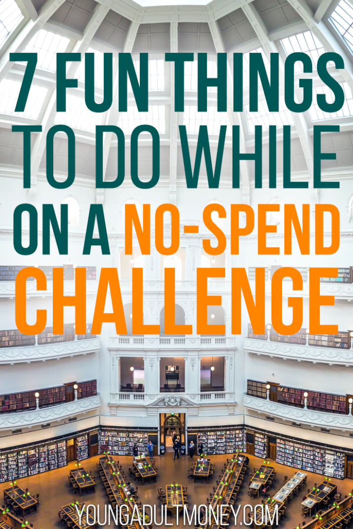 No spend challenges don't have to feel boring. Click through to read about 7 fun, free things to do during a no-spend challenge.