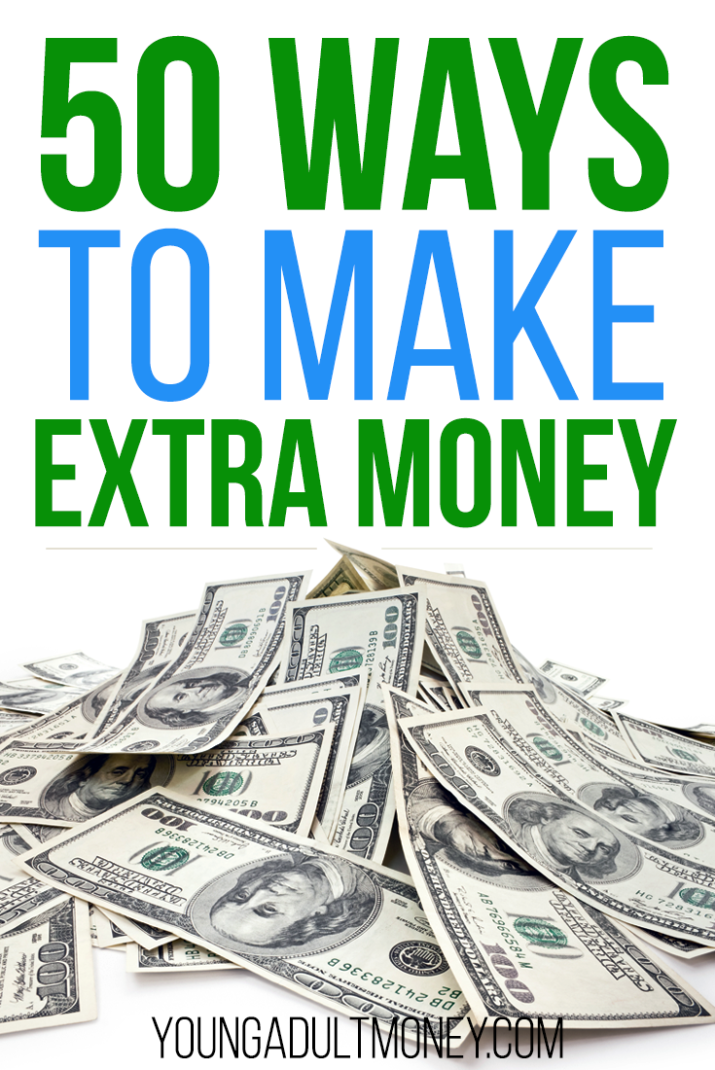 Could you use some extra cash? Check out these 50 legitimate ways to make money on the side.