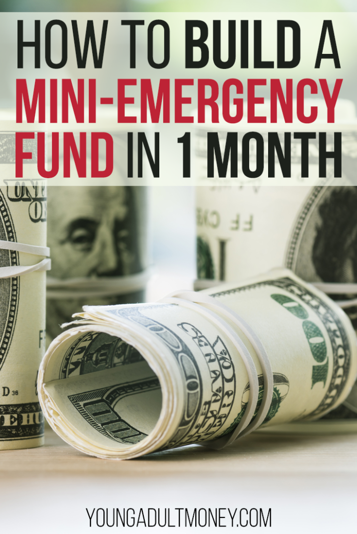 Interested in starting an emergency fund, but aren't sure how to save? The trick is to start small. Here's how you can save for a mini-emergency fund in only one month's time.