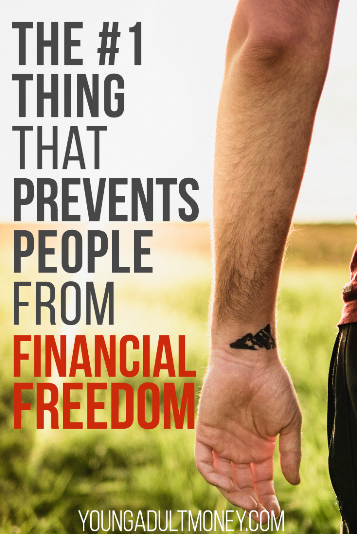 What's the biggest barrier to achieving financial freedom? Commitment. Here's how you can become committed to your financial journey.