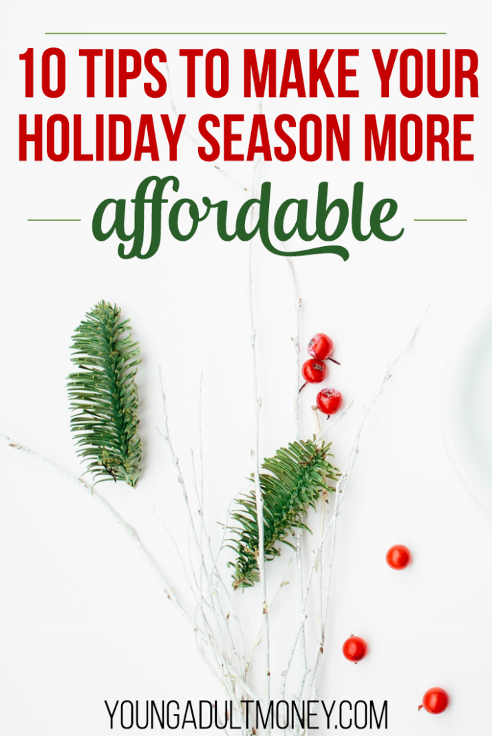 Is the holiday season busting your budget? Here are 10 simple holiday spending tips to save your finances and make your holiday season more affordable.