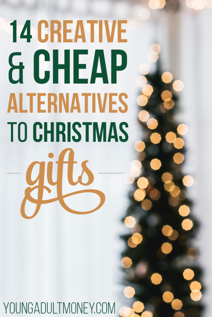 is spending money on christmas blowing your budget here are 14 creative and cheap alternatives