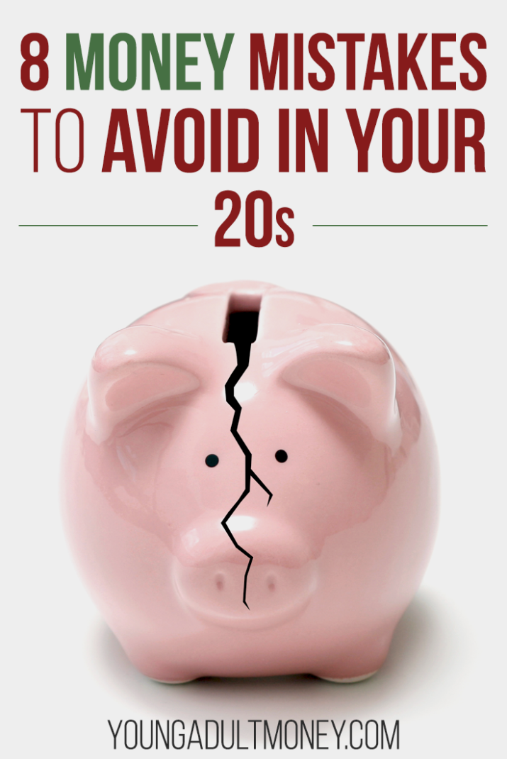 There's a lot to learn about managing your money in your 20s. Here are the top 8 money mistakes to avoid in your 20s, and what you should do instead.