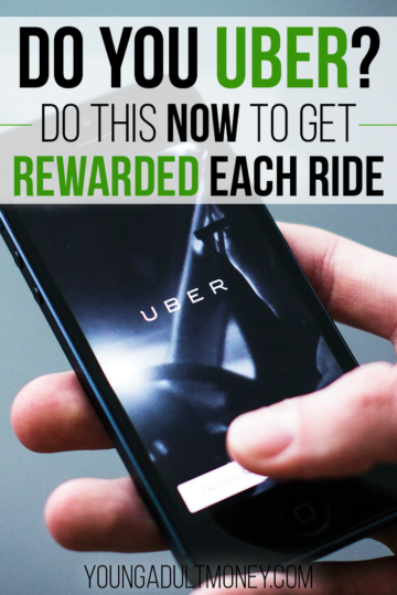 If you use Uber and you aren't getting CASHBACK rewards on Uber rides, you are missing out. Find out how to get rewarded on each Uber ride.