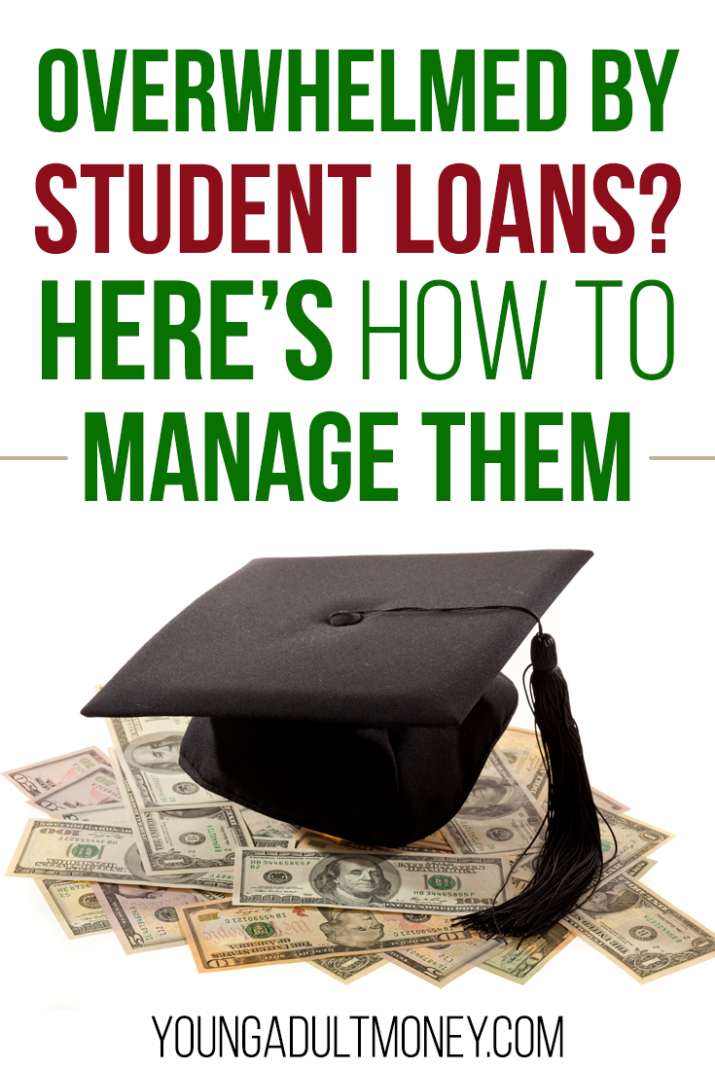 Overwhelmed by student loans? Here are a few different ways to make them more manageable.