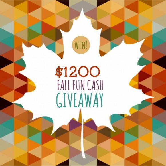 1200 Fall Fun Cash Giveaway
