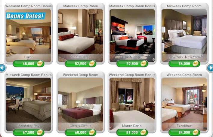 free hotel rooms in las vegas