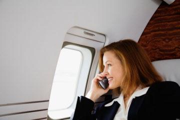 Woman Sharing Salary on Phone