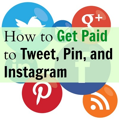 How to get paid to tweet pin and instagram