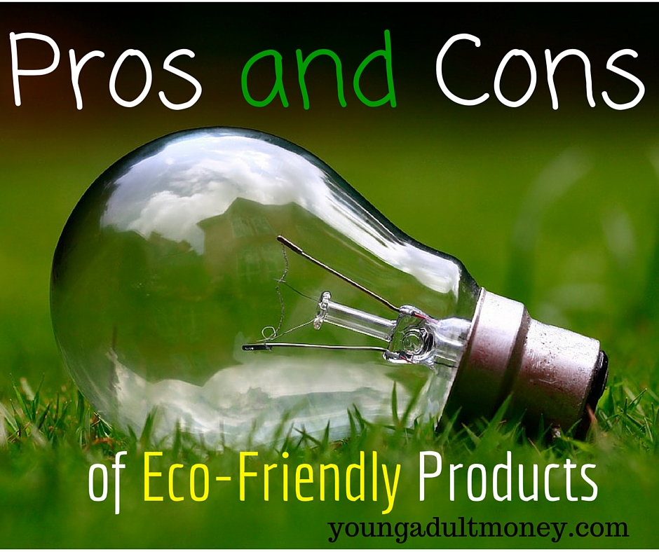 Pros and Cons of Eco-Friendly products   Young Adult Money