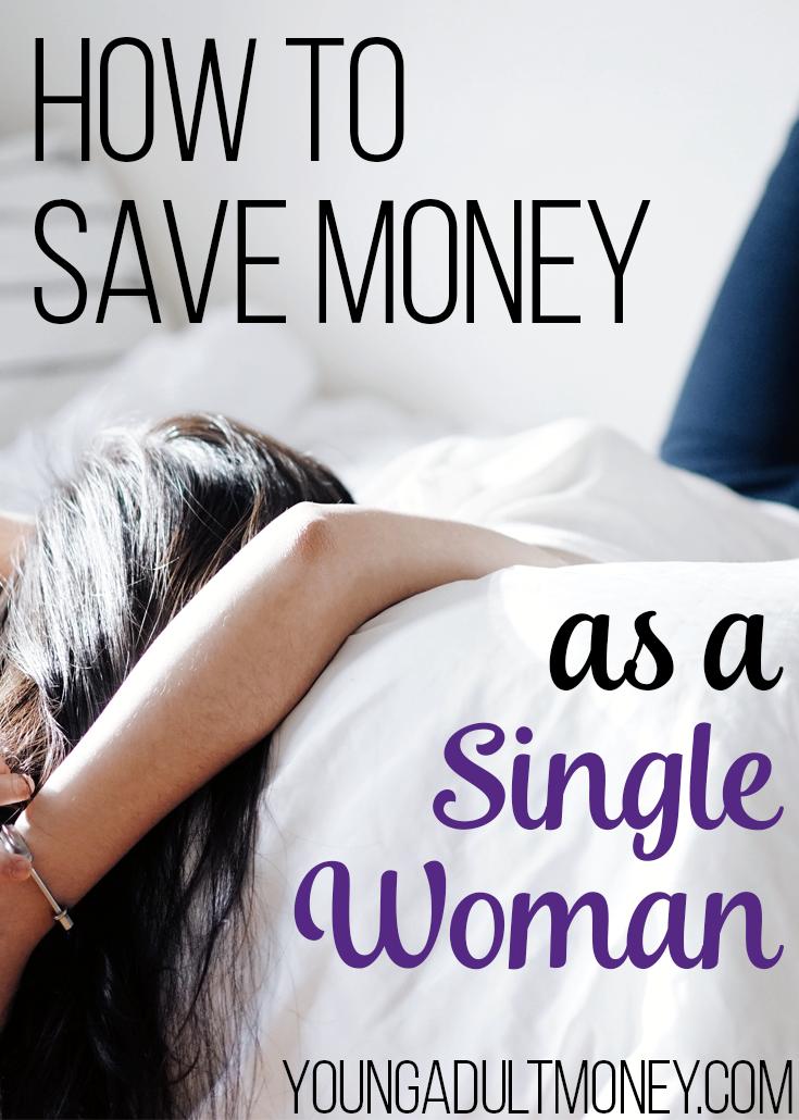 saving money as a single woman