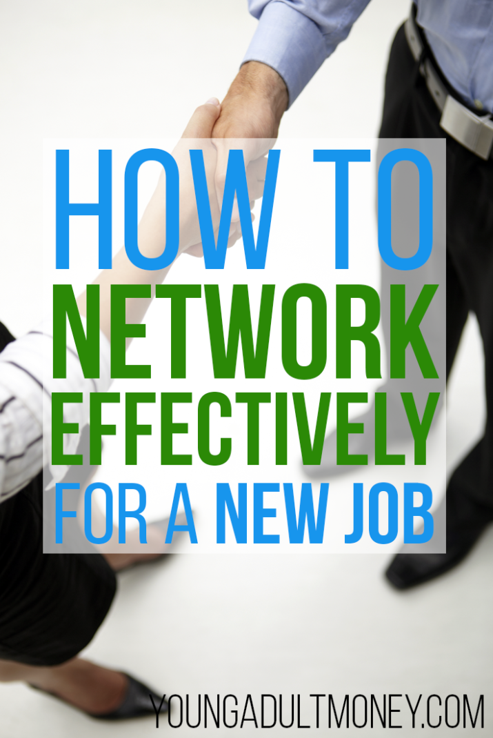 how to network effectively for a new job