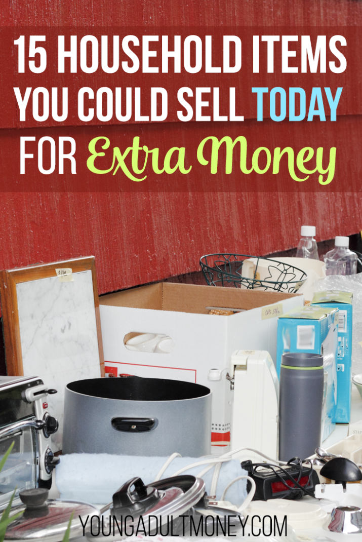 15 Household Items You Could Sell Today for Extra Money